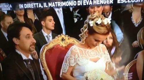 Matrimonio In Diretta Ferragnez : Eva henger e massimiliano caroletti matrimonio in diretta